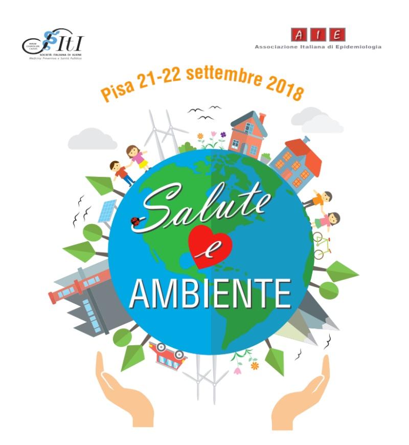Risultati immagini per Pisa, 21 e 22 settembre 2018 - Convegno su ambiente e salute
